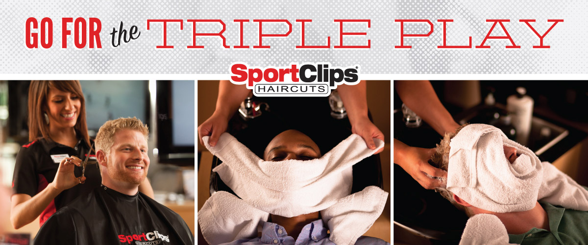 The Sport Clips Haircuts of St. Pete - 4th Street  Triple Play